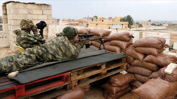 Barış Pınarı Harekatı bölgesinde 19 taciz saldırı