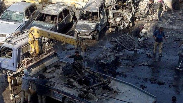 Bab da bombalı terör saldırısı: 18 ölü