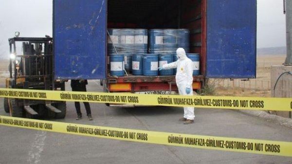 Gürbulak sınır kapısında 18 4 ton siyanür yakalandı