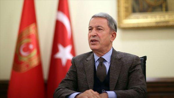 Bakan Akar dan Libya mutabakatı görüşmesi