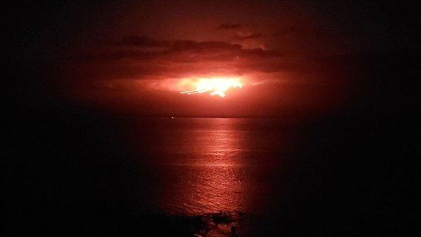 La Cumbre Yanardağı nda patlama