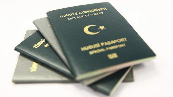 Avukatlara yeşil pasaport