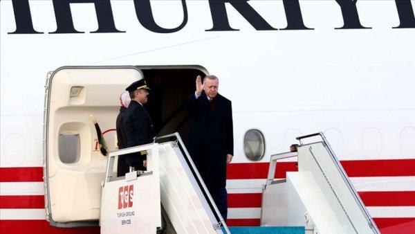 Cumhurbaşkanı Erdoğan Almanya dan ayrıldı