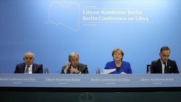 Berlin deki Libya Konferansı sona erdi