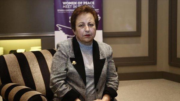 Nobel ödüllü Ebadi: Devrime destek verdiğim için özür diliyorum
