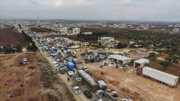 BM: İdlib de son 3 ayda 830 bin kişi yerinden edildi