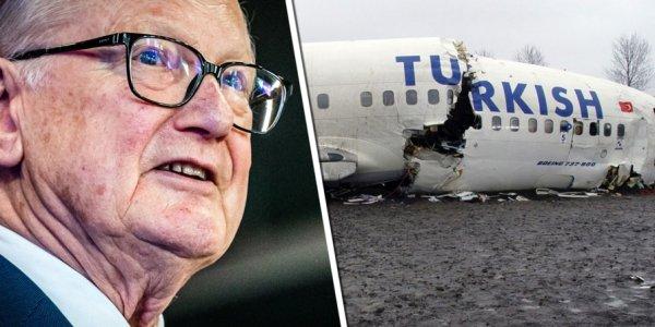 Düşüşüne şahit olduğum THY uçağı ile ilgili iddialar muallakta kaldı