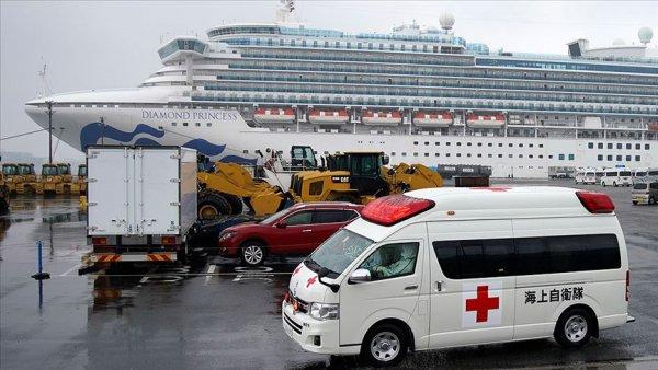 Japonya da karantinadaki gemide 70 kişide daha Kovid 19 tespit edildi