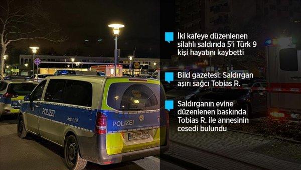 Almanya da aşırı sağ terörü Türkleri hedef aldı