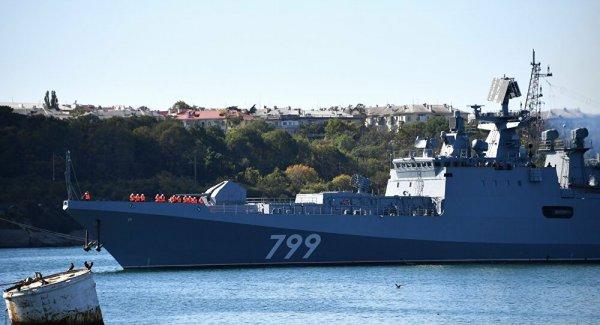 İki Rus firkateyn Türk boğazlarından geçti
