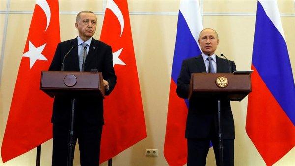 Erdoğan ve Putin en kısa sürede yüz yüze görüşecek