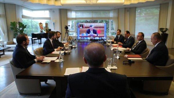 Erdoğan G20 Liderler Olağanüstü Zirvesi ne katıldı