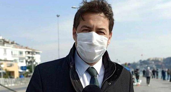NTV muhabiri koronavirüs testinin pozitif çıktığını duyurdu