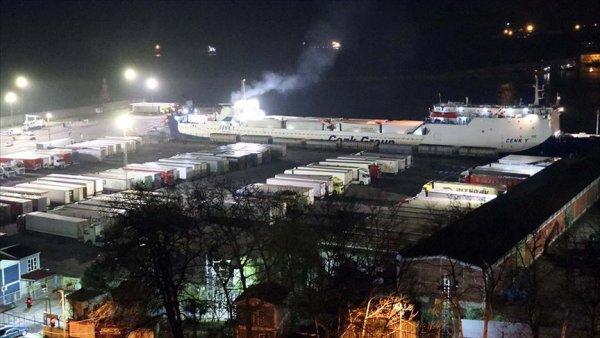 Ukrayna dan gelen tır şoförleri Zonguldak ta karantinaya alındı