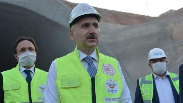 Konya Karaman hızlı tren hattı
