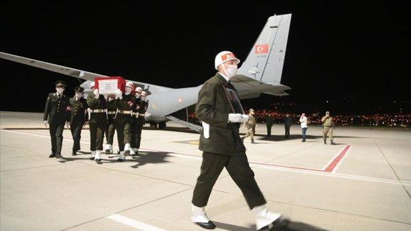 Şehit Uzman Onbaşı Kahya nın cenazesi Kahramanmaraş a getirildi