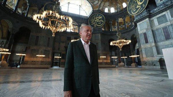 Cumhurbaşkanı Erdoğan Ayasofya isimli video klibi paylaştı