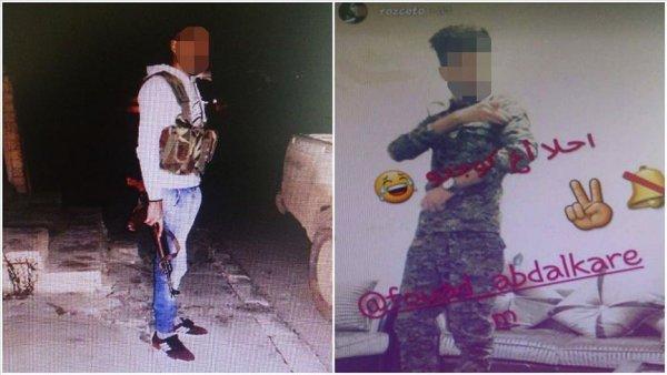 Türkiye ye kaçak giren terörist polisin dikkatinden kaçamadı