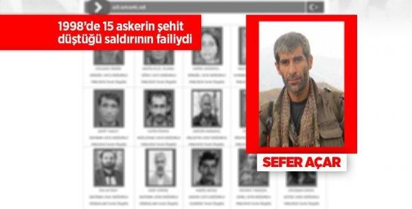 15 şehidin verildiği saldırının faili öldürüldü