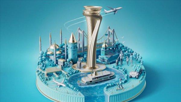 İstanbul Havalimanı nda yenilikçi görsel tasarım