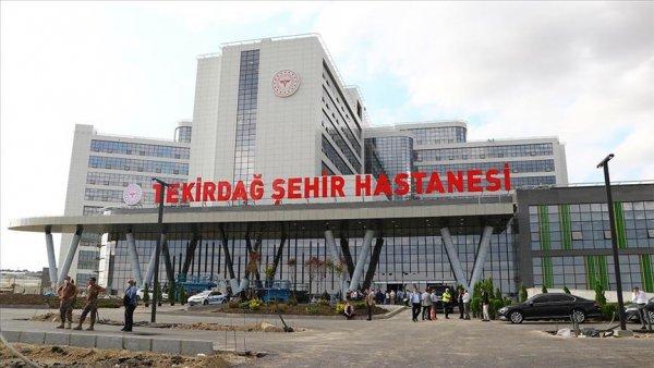 Tekirdağ Şehir Hastanesi nin yapımında sona gelindi