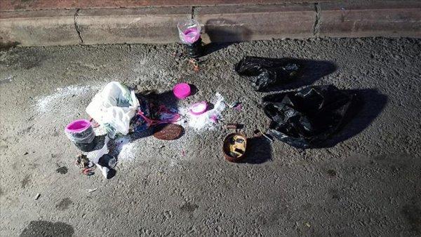 Gaziantep te bombalı saldırı son anda önlendi