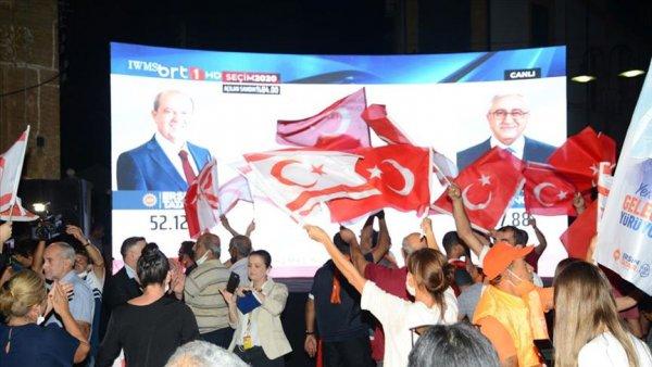 KKTC nin yeni Cumhurbaşkanı Ersin Tatar oldu
