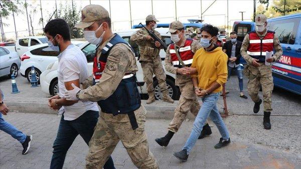 Metropollerde saldırı yapmak üzere eğitilen PKK lı 4 terörist tutuklandı