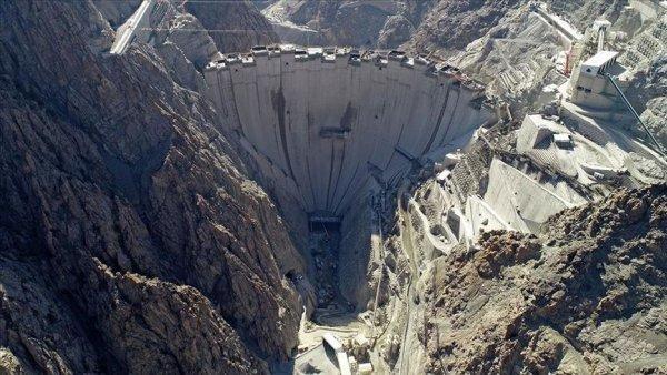 Türkiye nin en yüksek barajında yüzde 87 lik fiziki gerçekleşme sağlandı