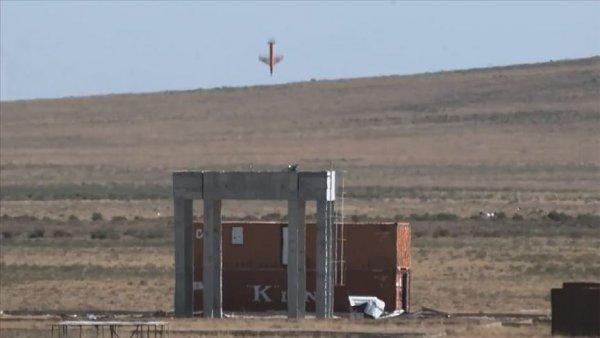 Minyatür Bomba Projesi kapsamında yapılan taarruz test atışı başarılı