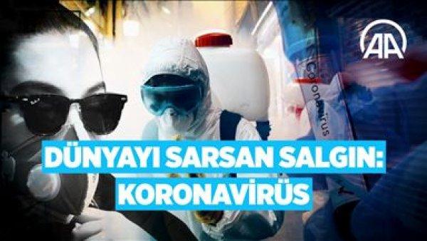 Dünyayı saran salgın Koronavirüs