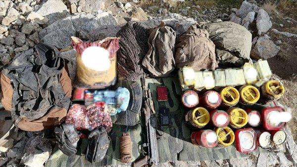 Van da terör örgütü PKK ya yönelik Yıldırım 10 operasyonu