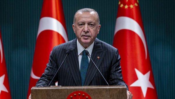 Cumhurbaşkanı Erdoğan dan Cumhuriyet Bayramı mesajı