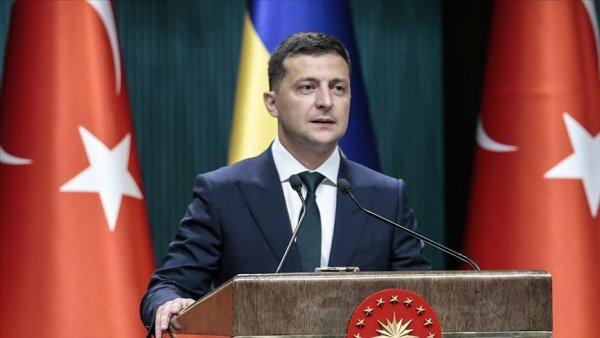 Ukrayna Devlet Başkanı Zelenskiy den 29 Ekim Cumhuriyet Bayramı tebriği