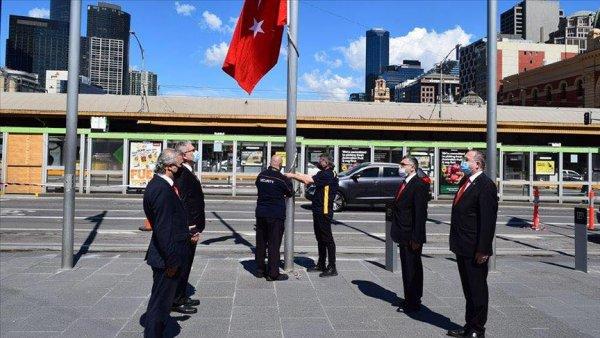 Avustralya da 29 Ekim Cumhuriyet Bayramı kutlandı