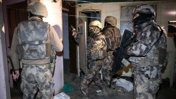 12 ilde terör operasyonu: 48 gözaltı