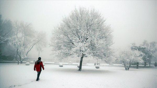 İstanbul un yüksek kesimlerinde kar yağışı devam ediyor