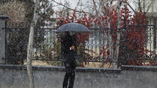 Doğu Anadolu da fırtına ve yağış uyarısı