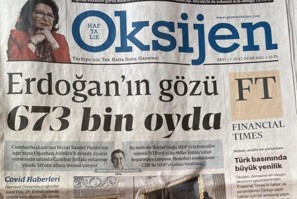 Oksijen gazetesi kimin kadrosunda kimler var?