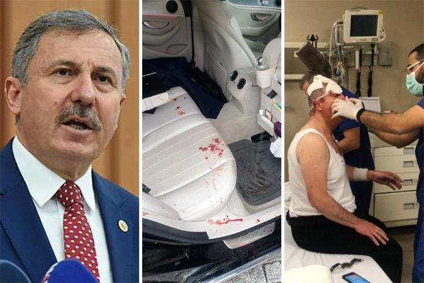 Gelecek Partisi Genel Başkan Yardımcısı Selçuk Özdağ a saldırı