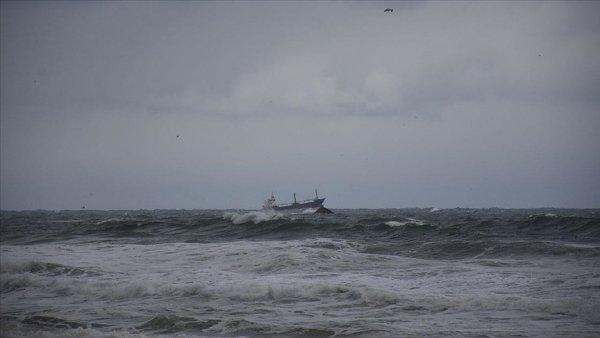 Karadeniz de batan kuru yük gemisindeki 3 kişiyi arama çalışmaları sürüyor