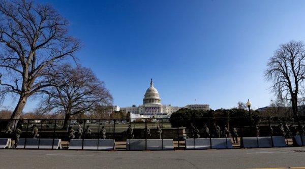 Biden ın yemin töreni öncesi başkent Washington daki güvenlik önlemleri