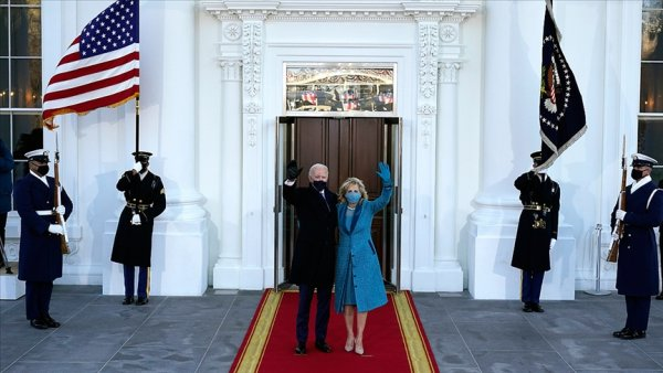 ABD Başkanı Biden Beyaz Saray da