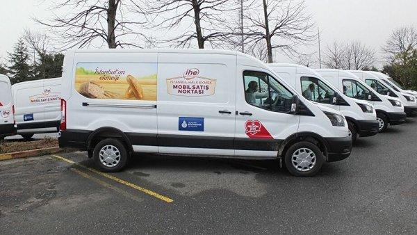 İBB nin mobil büfeler ile ekmek satışı yasaklandı