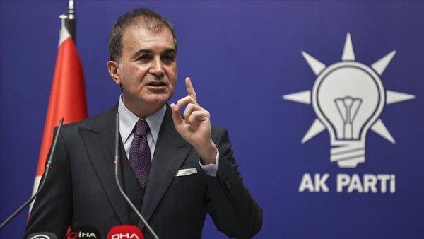 AK Parti Sözcüsü Çelik ten CHP ye militan tepkisi