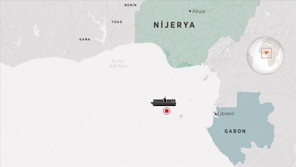 Gine Körfezi nde korsan saldırısına uğrayan gemi Gentil Limanı na demirledi
