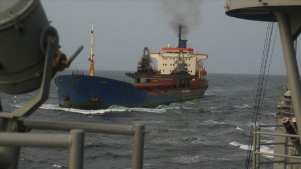 Korsanların gemiye saldırı görüntüleri