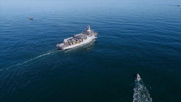 Yunanistan savaş uçaklarından uluslararası sularda TCG Çeşme gemisine taciz