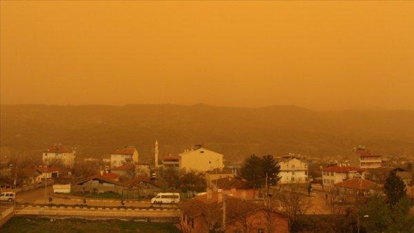 Avrupa dan gelecek çöl tozu etkisi