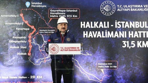İstanbul a iki yeni raylı sistem hattı müjdesi